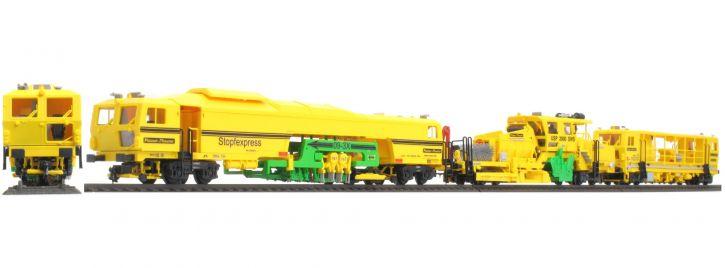 VIESSMANN 26053 Mechanischer Durcharbeitungszug Plasser und Theurer | DB Bahnbau | Spur H0