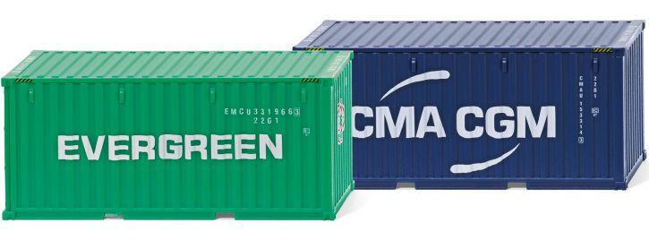 WIKING 001814 Container 20 Fuss   Zubehör 1:87