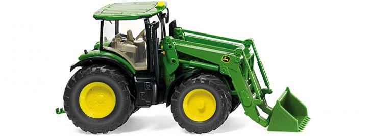 WIKING 035802 John Deere 7280R mit FL Traktormodell 1:87