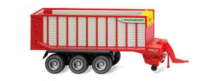 WIKING 038138 Pöttinger Jumbo Combiline Ladewagen | Agrarmodell 1:87