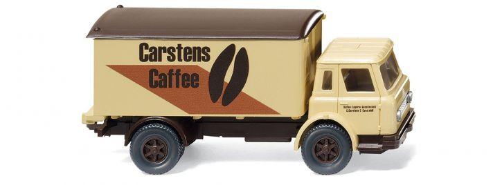 WIKING 044602 International Harvester Koffer-LKW 'Carstens Caffee', LKW-Modell 1:87