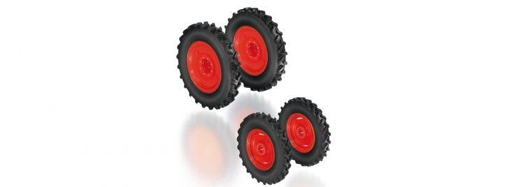 WIKING 077395 Rädersatz Pflegebereifung für Claas Arion Baureihe 400 | Rädersatz 1:32