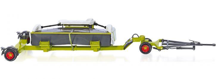 WIKING 077825 Claas Direct Disc 520 mit Wagen | Landwirtschaftsmodell 1:32