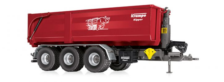 WIKING 077826 Krampe Hakenlift THL 30 L mit Abrollcontainer   1:32