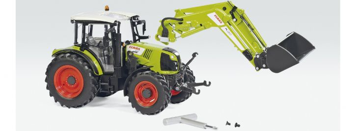 WIKING 077829 Claas Arion 430 mit Frontlader 120   Landwirtschaftsmodell 1:32