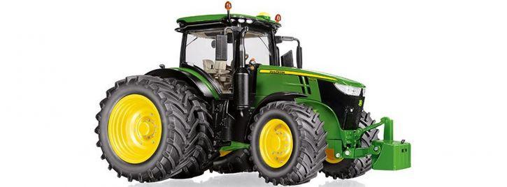 WIKING 077846 John Deere 7310R mit Zwillingsbereifung   Traktormodell 1:32