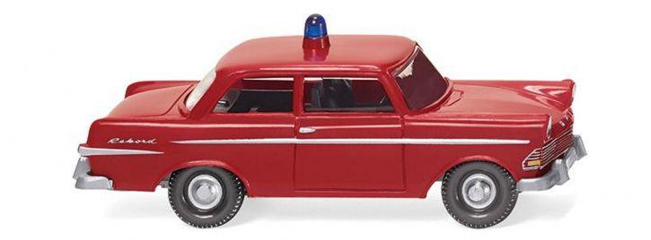 WIKING 086146 Opel Rekord Feuerwehr   Blaulichtmodell 1:87