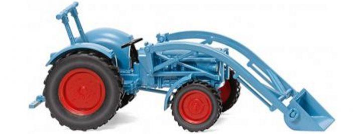 WIKING 087104 Eicher Königstiger mit Frontlader | Traktormodell 1:87