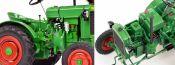 Schuco 450022800 Deutz F1 M414 grün/rot | Agrarmodell 1:18
