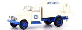 """BREKINA 37122 Hanomag L 28 """"Getränkeaufbau Löwenbräu"""" LKW-Modell 1:87 online kaufen"""