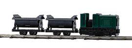 BUSCH 12000 Feldbahn Start-Set mit Kipploren Spur H0f online kaufen