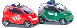 BUSCH 8351 Smart Polizei und Feuerwehr Modellautos Spur N online kaufen