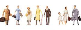 FALLER 150501 Reisende I 8 Miniaturfiguren | Spur H0 online kaufen