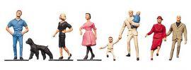 FALLER 150904 Passanten mit Hund | Miniaturfiguren Spur H0 online kaufen