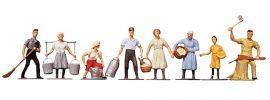 FALLER 151007 Auf dem Bauernhof | 8 Miniaturfiguren |  Spur H0 online kaufen