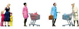 FALLER 151035 Im Supermarkt mit Einkaufswagen | Miniaturfiguren Spur H0 online kaufen