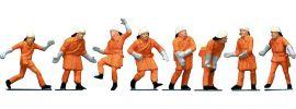 FALLER 151036 Feuerwehrleute | Uniform orange | 8 Stück |  Spur H0 online kaufen