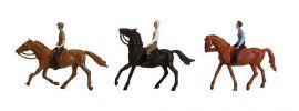 FALLER 153027 Reiter + Pferd | 3 Miniaturfiguren |  Spur H0 online kaufen