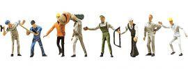 FALLER 155315 Bauarbeiter | 8 Miniaturfiguren | Spur N online kaufen