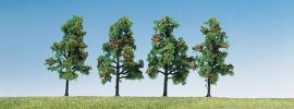 FALLER 181407 Obstbäume mit Früchten | Höhe ca. 6 cm | 4 Stück | Spur H0 + TT + N online kaufen