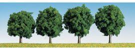 FALLER 181412 Laubbäume dunkelgrün | 6 cm | 4 Stück | Spur H0 + N + Z online kaufen