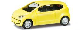 """ausverkauft   herpa 024969003 VW Up! 3-t�rig """"sunflower"""" Automodell 1:87 online kaufen"""