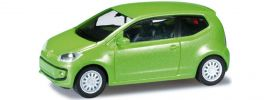 """herpa 034968002 VW Up! 3-t�rig """"met. vipergreen"""" Automodell 1:87 online kaufen"""