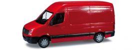 ausverkauft | herpa 049955 VW Crafter Kasten HD rot Modellauto 1:87 online kaufen