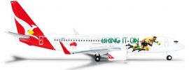 "herpa 526128 B737-800 Qantas ""Lions Tour"" 