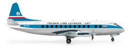 herpa 554657 Vickers Viscount 800 LOT Polish Airlines Flugzeugmodell 1:200 online kaufen