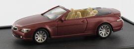 herpa 436-VARD0053 BMW 6er Cabrio bordeaux Modellauto 1:87 online kaufen