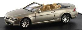 herpa 436-VARA0053 BMW 6er Cabrio goldbeige-metallic, Modellauto 1:87 online kaufen