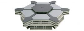 herpa 519663 Abflughalle 6-eckig, Bausatz Wings 1:500 online kaufen