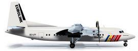 herpa 555821 Fokker 50 Scandinavian Commuter - Eurolink, Flugzeugmodell 1:200 online kaufen