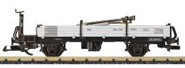 LGB 40099 Niederbordwagen mit Ladegut RhB Spur G online kaufen