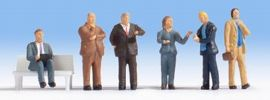 NOCH 15227 Geschäftsleute | 6 Miniaturfiguren | Spur H0 online kaufen