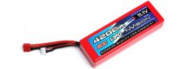 nVision NVO1106 Lipo-Akku | 3s | 11,1 Volt | 4200 mAh | 60C | DEANS online kaufen
