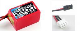 nVision NVO1504 RX 2500 7.4V Hump LiPo online kaufen