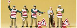 Preiser 10419 Polizisten mit Warnweste | Figuren Spur H0 1:87 online kaufen
