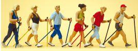 Preiser 10575 Nordic Walking | 6 Miniaturfiguren Spur H0 online kaufen
