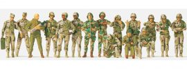 Preiser 16548 Panzerbesatzungen US Army | 20 unbemalte Figuren | Spur H0 online kaufen