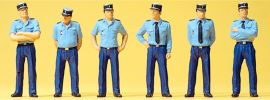 Preiser 25108 Französische Polizisten in Sommeruniform Miniaturfiguren Spur H0 online kaufen