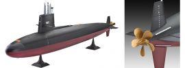 ausverkauft   Revell 05119 US-Navy Skipjack-Klasse U-Boot Bausatz 1:72 online kaufen
