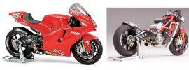 TAMIYA 14101 Ducati Desmosedici Motorrad Bausatz 1:12  online kaufen