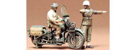 TAMIYA 35084 U.S. Militär Polizei m. Motorrad Militär Bausatz 1:35 online kaufen