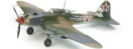 TAMIYA 61113 Ilyushin IL-2 Shturmovik Flugzeug Bausatz 1:48 online kaufen