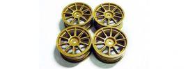 TAMIYA 51022 Felgen Subaru Impreza WRC 2003 24 mm gold | 4 Stück online kaufen
