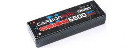 Team ORION ORI14045 LiPo Akku Carbon Pro 7,4 Volt |  6500 mAh | 90C online kaufen