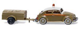 WIKING 003001 VW Käfer 1200 mit Einachsanhänger Schlotmann   Modellauto 1:87 online kaufen