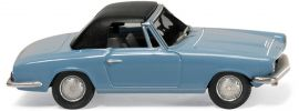 WIKING 018749 BMW 1600 GT Cabrio in hellblau | Modellauto 1:87 online kaufen